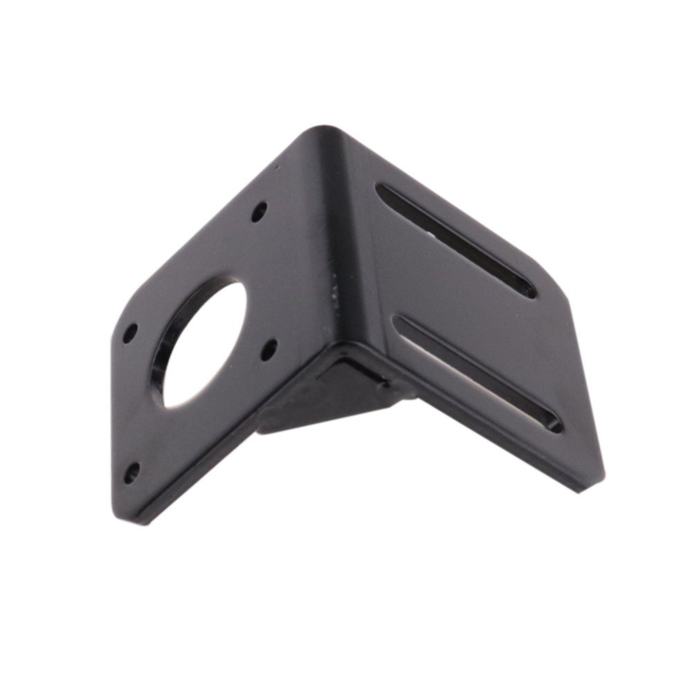 Nema 17 Stepper Motor Mounting Bracket with Screw m3x10 and washers and Hexagon Spanner Wrench Boeray 4pcs Black Mounting Bracket for 42mm Nema 17 Stepper Motor
