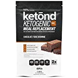 Ketond Ketogenic Protein Powder - High-Performance Keto Weight Loss Supplement - Boost Ketone Levels with MCT - Chocolate Fudge Brownie (30 Servings)