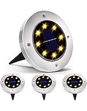 Luces de antorcha solar, YEESON Impermeable 96 LED Automático Encendido/Apagado Luz de llama de jardín de seguridad para patio Patio Entrada de auto Decoración navideña 2 paquetes