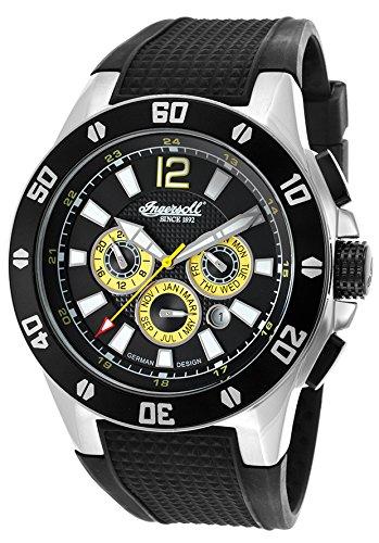 Ingersoll Men's IN3221BK Brazos Analog Display Automatic Self Wind Black Watch