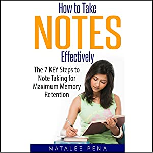How to Take Notes Effectively Audiobook
