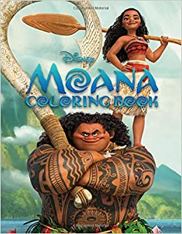 Disney Moana Coloring Book Great Coloring Pages For Kids