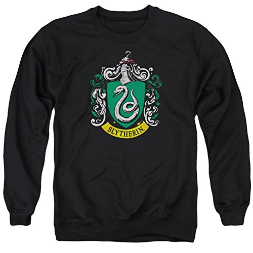 Crewneck Sweatshirt: Harry Potter- Slytherin Crest Size L