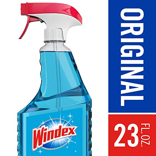 Used, Windex Glass Cleaner Trigger Bottle, Original Blue, for sale  Delivered anywhere in USA