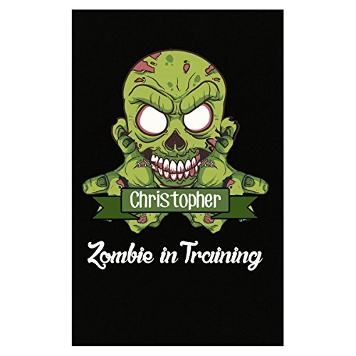Halloween Costume Christopher Zombie In Training Funny College Humor Gift - Poster