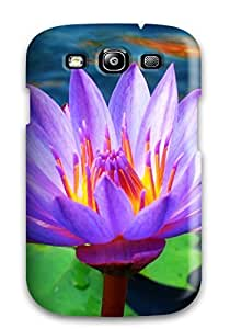 Tough Galaxy FcjrSct3852KjWJl Case Cover/ Case For Galaxy S3(cool Lotus Flower)