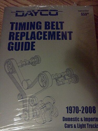 Dayco Timing Belt Replacement Guide 1970-2008