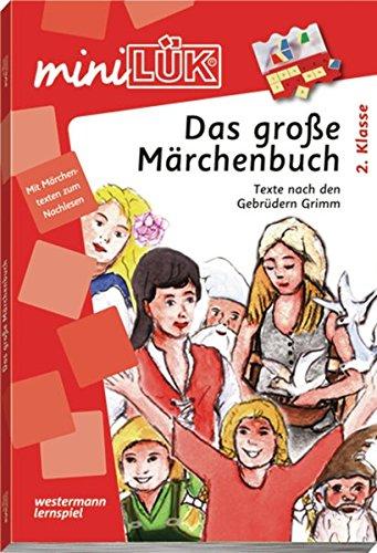 miniLÜK: Das große Märchenbuch: Übungen plus 4 Märchen zum Nachlesen