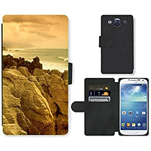 Hot Style Cell Phone Card Slot PU Leather Wallet Case // M99999315 Coromandel Peninsula New Zealand // Samsung Galaxy S3 S III SIII i9300