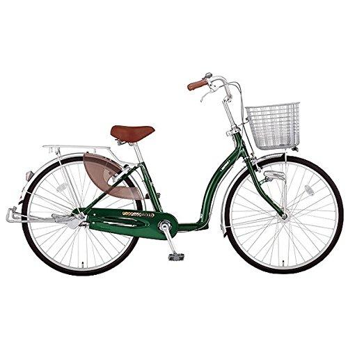 ミヤタ(MIYATA) シティサイクル 自転車 ラックル DL40L7 (OG85) ネオフォレストグリーン B077NSD8D4