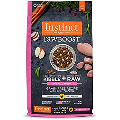 Instinct Raw Boost Small Breed & Toy Breed Grain Free Recipe Natural Dry Dog Food