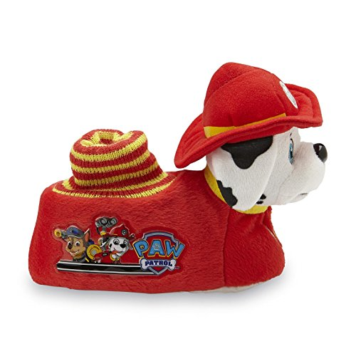 Paw Patrol Toddler Boys Marshall Socktop Red Slippers