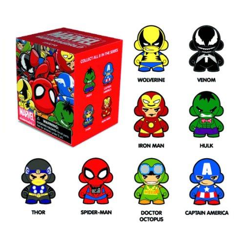 Kidrobot Marvel Series Micro Munny Action Figures (Display of 20)