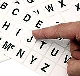 ChromaLabel 1 x 3/4 inch Alphabet Stickers, 10