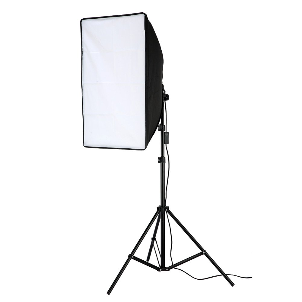 Lightdow 200W Photographic Equipment 20x28'' Softbox Continuous Output Lighting Photo Studio Soft Light Bundle(Model Number: LD-TZ005)