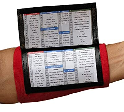 Playbook Wristband - Wrist Coach x200(Adult) 10 Pack (Scarlet)