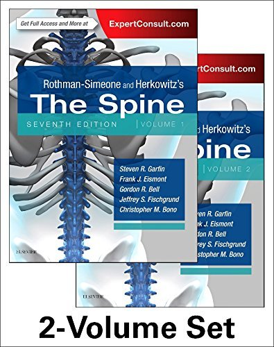 Rothman-Simeone and Herkowitz's The Spine, 2 Vol Set (Rothman Simeone the Spine) ()