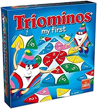 Goliath Triominos My First - Juego de mesa infantil: Amazon.es ...