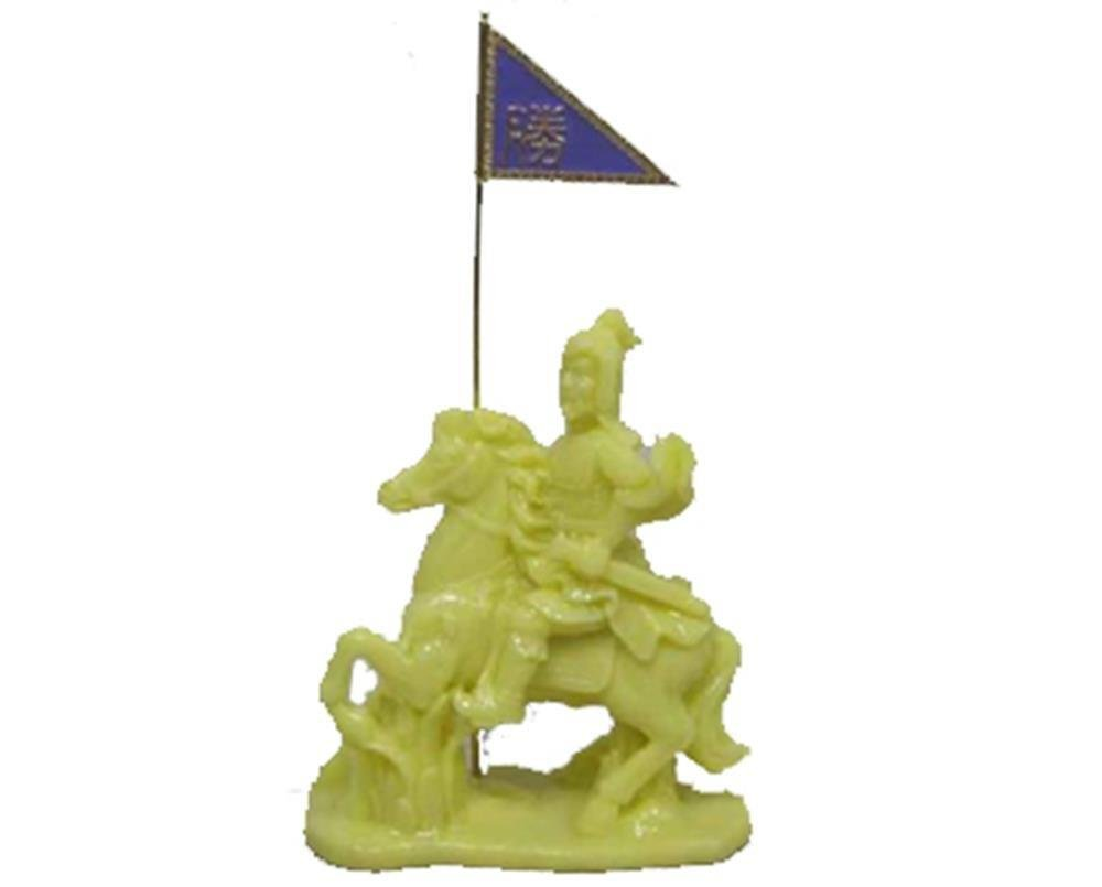 StealStreet SS-MU-WAR902 Fearless General Tsao Tsaon Victory Horse Figurine