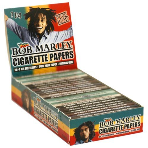 Bob Marley Rolling Paper 1.25 25ct Bob Marley Rolling Papers