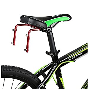 AKM Double Water Bottle Holder Cage Mount for Bike Bicycle Cycling Back Seat Saddle