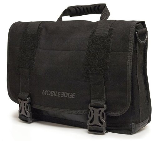 Price comparison product image Mobile Edge Ultrabook Eco-Friendly Messenger Bag, Black (MEUME1)