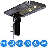 eLEDing Solar Power SMART CREE LED Street Light for Commercial Residential Parking Bike Paths Walkways Courtyard (10W)