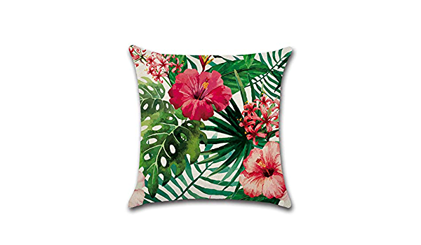 Tropical Flowers Set of 4 Small Animal Pillows for Guinea pigHedgehogHamsterFerretRatChinchillas  and other small animals