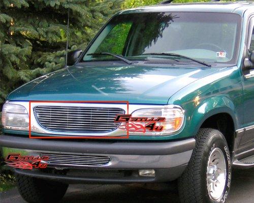 01 Explorer Ford Billet Grille - APS Fits 1995-2001 Ford Explorer Main Upper Billet Grille Insert #F85023A