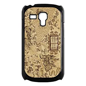 Awesome Magic Harry Potter Marauder's Map Hard Case Cover for Galaxy S3 Mini I8190