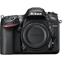 Nikon D7200 DX-Format 24.2MP Digital HD-SLR Body Bundle w/ lens cleaning kit, compact bag, micro fiber cloth, 32GB memory card, 57 tripod, 58mm filter kit, manual flash, training DVD & more