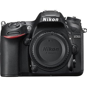 Nikon D7200 DX-Format 24.2MP Digital HD-SLR Body 16GB bundle includes camera body, lens cleaning kit, compact gadget bag, 16GB memory card and micro fiber cloth