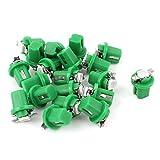 B8.5D Green 5050 LED Dash Light 20 Pcs Interior