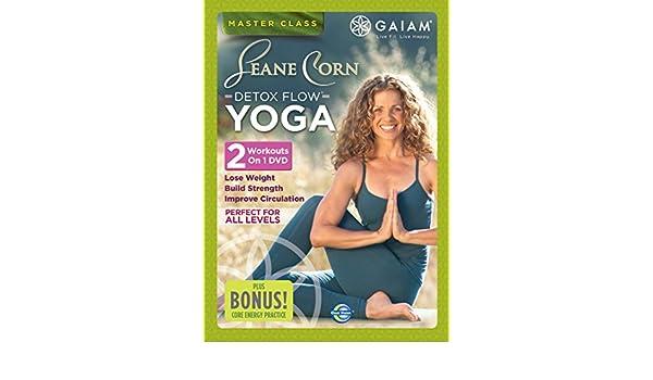 Gaiam - Seane Corn Detox Flow Yoga DVD Reino Unido: Amazon ...