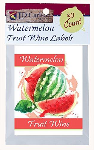 Watermelon Fruit Wine Labels - Labels Fruit Wine