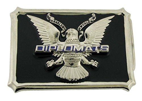 Diplomats Belt Buckle Harlem New York Usa Style Unisex Metal New Fashion Big