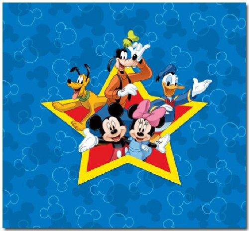 SandyLion Disney Mickey and Friends Scrapbook Album by Sandylion
