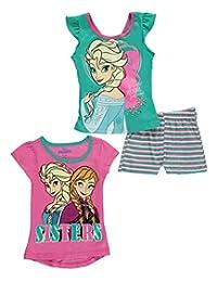 """Disney Frozen Little Girls' Toddler """"Gracefully Regal"""" 3-Piece Set"""