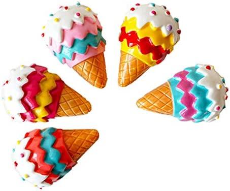 Set de 10 imanes para nevera imanes de cono de helado: Amazon.es ...