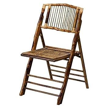 Amazon.com: Cómodo silla sin reposabrazos, bambú, material ...