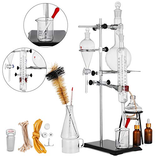 VEVOR Distillation Apparatus 500ML Lab Glassware Kit for sale  Delivered anywhere in USA
