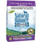 Natural Balance L.I.D. Limited Ingredient Diets Legume & Duck Meal Formula Dry Dog Food, 24-Pound
