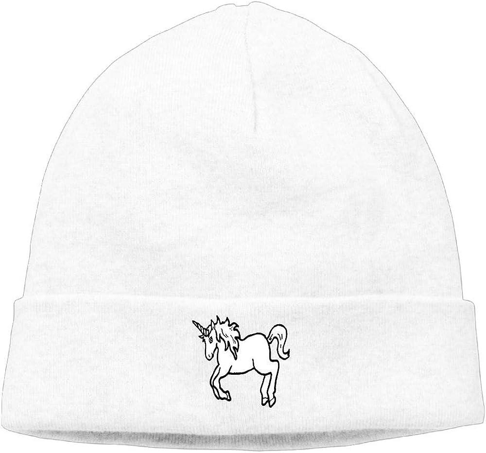 nordic runes Unicorn Tattoo Beanie Hat Winter Warm Knit Skull Cap for Mens//Womens