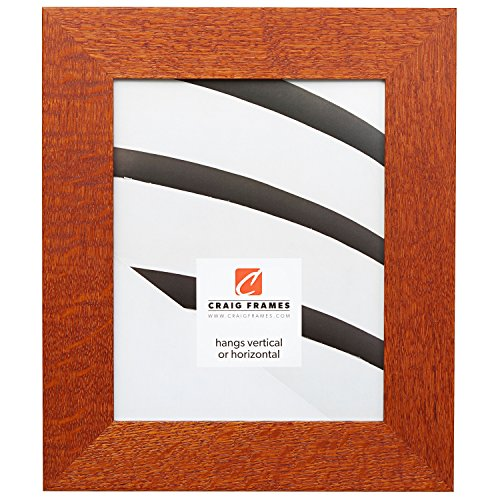 (Craig Frames 80598923 18 by 24-Inch Picture Frame, Quarter Sawn Oak, 2-Inch Wide, Rich Brown, Acrylic Facing, Foamcore Backing)