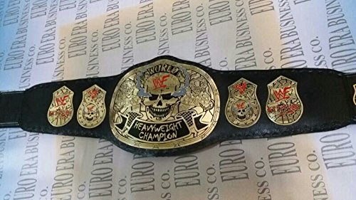 New Replica Stone Cold Smoking Skull Champion Belt Adult Size With Bag by Euro Era Replica