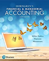 Horngren's Financial & Managerial Accounting (6th Edition)