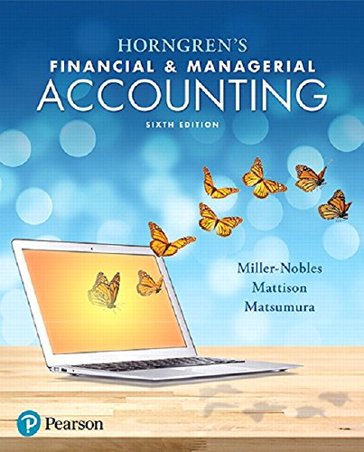 134486838 - Horngren's Financial & Managerial Accounting (6th Edition)
