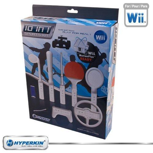 Nintendo Wii Soft Foam 10-in-1 Sports Kit Bundle -