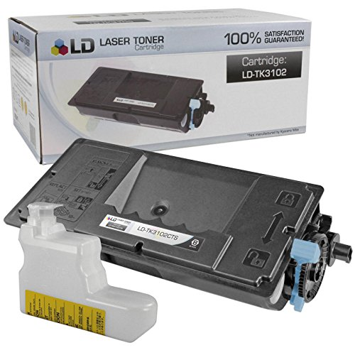 LD © Set of 5 Compatible Kyocera-Mita Black TK-3102 / 1T02MS0US0 Laser Toner Cartridges for use in FS-2100DN Printers Photo #3