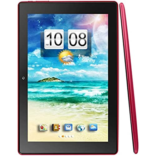 Kocaso M1070 M1070RED 10-Inch 8 GB Tablet (Red) Coupons